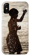 Splashes Of Light IPhone Case