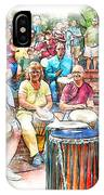 Drum Circle Of Friends IPhone Case