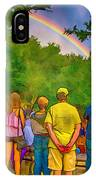 Drum Circle Rainbow IPhone X Case
