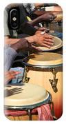 Drum Jammin In Golden Gate Park IPhone Case