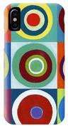 Drunk Circles IPhone Case
