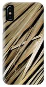 Dry Palm Leaves IPhone Case