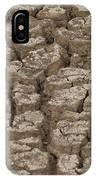 Dry Cracked Mud  IPhone Case