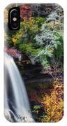 Dry Falls In Autumn IPhone Case