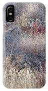 Dry Grasses And Bare Trees IPhone Case