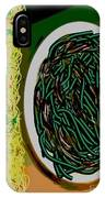 Dry Sauteed Stringbeans IPhone Case