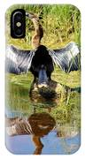 Drying Her Wings IPhone Case