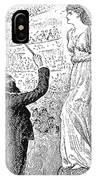 Du Maurier: Trilby, 1894 IPhone Case