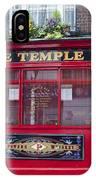 Dublin Ireland - The Temple Bar IPhone Case