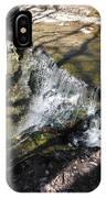 Dublin Ohio Waterfall In Spring 1 IPhone Case