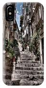 Dubrovnik Streets 6 IPhone Case