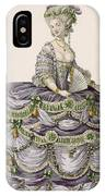 Duchess Evening Gown, Engraved IPhone Case