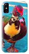 Duck 5515 7 A IPhone Case