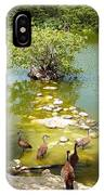 Duck Island IPhone Case