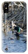 Duck Paddle IPhone Case
