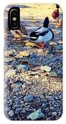 Duck Parade On The Beach IPhone Case