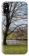 Duck Pond Haverford College IPhone Case