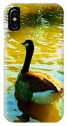 Duck Swimming Away IPhone Case