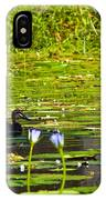 Ducks In Lily Pond IPhone Case