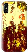 Ducks On Red Lake 2 IPhone Case