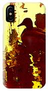 Ducks On Red Lake 3 IPhone Case