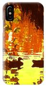 Ducks On Red Lake IPhone Case