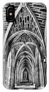 Duke Chapel Arches IPhone Case