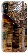 Dunwoody Farmhouse Cabins IPhone Case