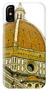 Duomo Florence Italy IPhone Case