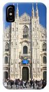 Duomo In Milano. Italy IPhone Case