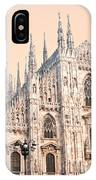 Duomo Of Milan IPhone Case