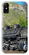 Durango To Silverton Train IPhone Case