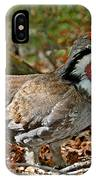 Dusky Grouse Cock IPhone Case