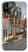 Dutch Shops On Windmill Island In Holland Michigan IPhone Case