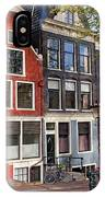 Dutch Style Traditional Houses In Amsterdam IPhone X Case