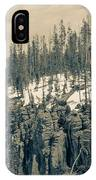 Yellowstone In The Snow IPhone X Case