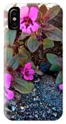 Dwarf Purple Monkeyflower In Lava Beds Nmon-ca IPhone Case