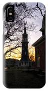Dwight Windmill At Sunset IPhone Case