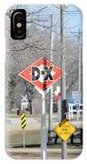 Dx Gas Sign IPhone Case