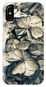 Dying Beauty Black And White IPhone Case