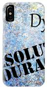 Dylan - Resolute Courage IPhone Case
