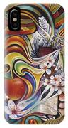 Dynamic Blossoms IPhone Case