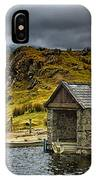 Dywarchen Boathouse Stormy IPhone Case