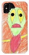 E's My Favorite Martian IPhone Case