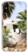 E. Stewart Williams Home Palm Springs IPhone Case