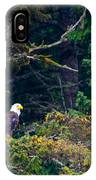 Eagle In Trees  IPhone Case