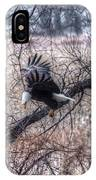 Eagle Landing 1 IPhone Case