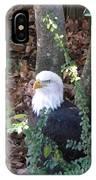 Eagle Pose IPhone Case