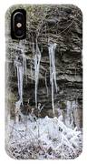 Eagle Rock Icicles 2 IPhone Case