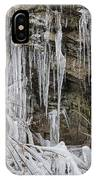 Eagle Rock Icicles IPhone Case